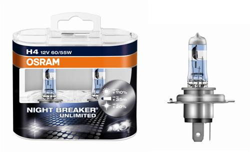 OSRAM NIGHT BREAKER Unlimited +110% - Weitere Features