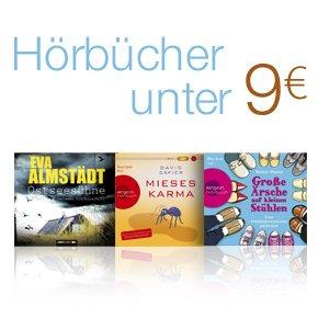Hörbücher unter 9 EUR
