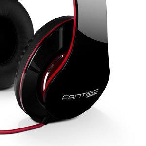 FANTEC SHP-250AJ schwarz/rot