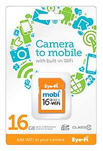 Eye-Fi Mobi 8 GB SDHC-Karte -? Die intelligentere SD-Karte