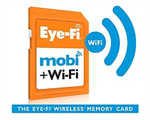 Eye-Fi Mobi 8 GB SDHC-Karte 0150? Technische Highlights