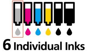 Gehört eine Grautinte, die sowohl Farb- als auch Schwarzweiß-Fotodrucke noch schöner werden lässt