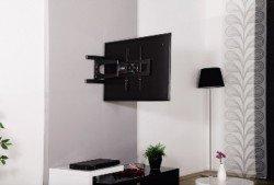 hama tv wandhalterung fullmotion ultraslim neigbar elektronik. Black Bedroom Furniture Sets. Home Design Ideas