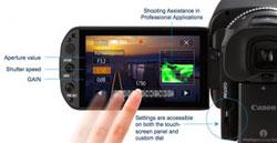 Hochauflösendes Touchscreen-LCD