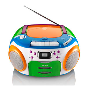 lenco scr 97 kids cd player mp3 lcd display fm radio. Black Bedroom Furniture Sets. Home Design Ideas