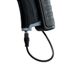 Universelle 2.5 mm DC Input-Buchse ist mit den meisten DSLR-Kameras kompatibel