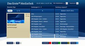 HbbTV Anwendung (ARD Mediathek)