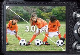 7,6 cm großes LCD-Anzeige