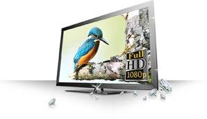 Full HD 1080p Sensationelles Full-HD-Erlebnis mit gestochen scharfen Bildern