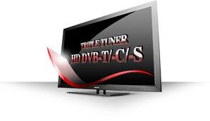 HD Triple-Tuner für den TV-Empfang aller Signale