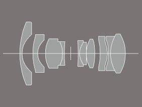 Optischer Aufbau XF14mm F2.8 R