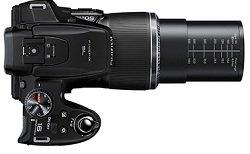 50-fach optischer Zoom von 24-1200 mm (analog KB)