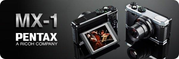 Pentax MX-1 Kompaktkamera
