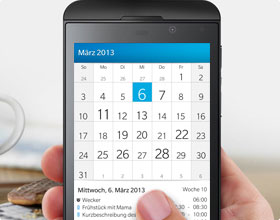 Calendario BlackBerry