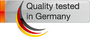 Quality Tested in Germany