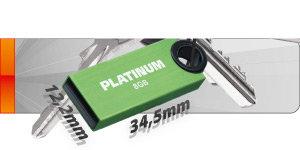 Platinum Slender Stick - Kompakt, leicht und modern