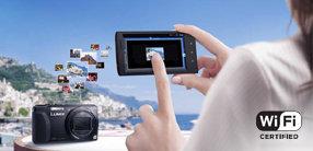 Mehr Flexibilität bei Aufnahme und Wiedergabe durch Wi-Fi-Funktion mit NFC