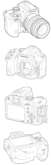 Pentax K-30 SLR-Kamera