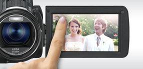 LCD mit Touch-Bedienung