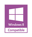 Kompatibel mit Windows 8 und Windows 7