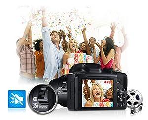 Full-HD-Videoaufnahme mit Videozoom für kristallklaren Sound