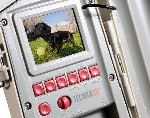 Die Technaxx Nature Cam TX-09 ist in 2 Farben erhältlich