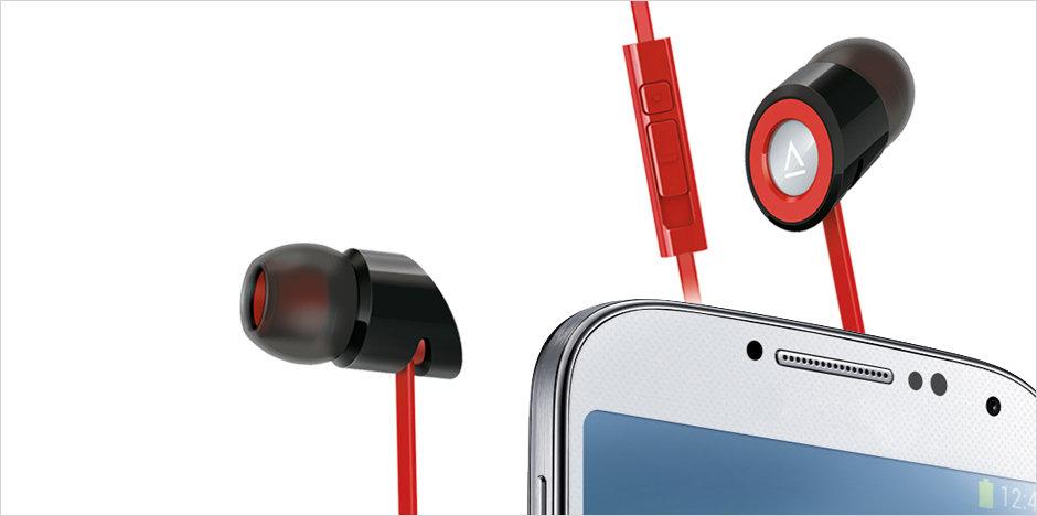 creative hitz ma350 in ear headset f r smartphone amazon. Black Bedroom Furniture Sets. Home Design Ideas