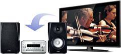 Digitaler Audioeingang für TV oder Blu-ray Spieler