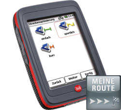 Navigationssystem Falk Outdoor Limited Edition