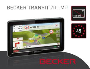 Becker Navigationssystem