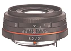 HD PENTAX-DA Limited Wechselobjektive für Digitalkameras mit K-Anschluss mit hochwertiger HD Beschichtung