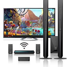 Streamen Sie On‐demand‐Entertainment dank integriertem Wi‐Fi