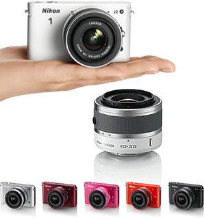 Nikon 1 J2 Farbrange