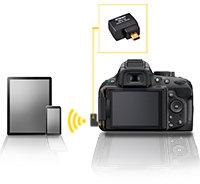 Nikon D5200 Optionaler Funkadapter WU-1a für drahtlose Konnektivität