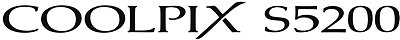 COOLPIX S5200 Logo