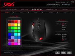 Sharkoon DarkGlider - Gaming Laser Mouse