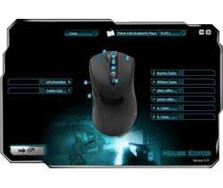 Sharkoon FireGlider Black - Gaming Laser Mouse
