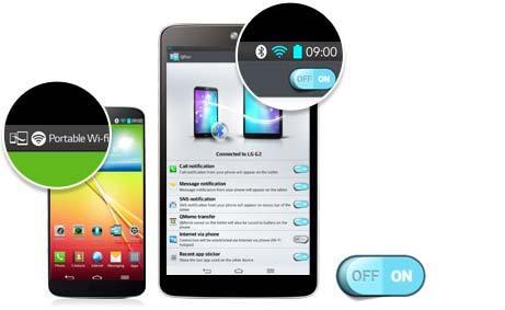 LG G Pad - QPair