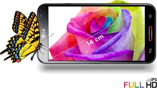 LG E986 Optimus G Pro - 14cm-Full-HD-Display