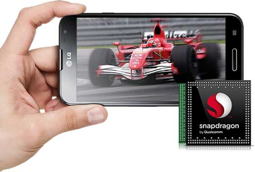 LG E986 Optimus G Pro - leistungsstarker 1.7-GHz-Quad-Code-Prozessor