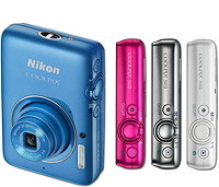 COOLPIX S02 Design