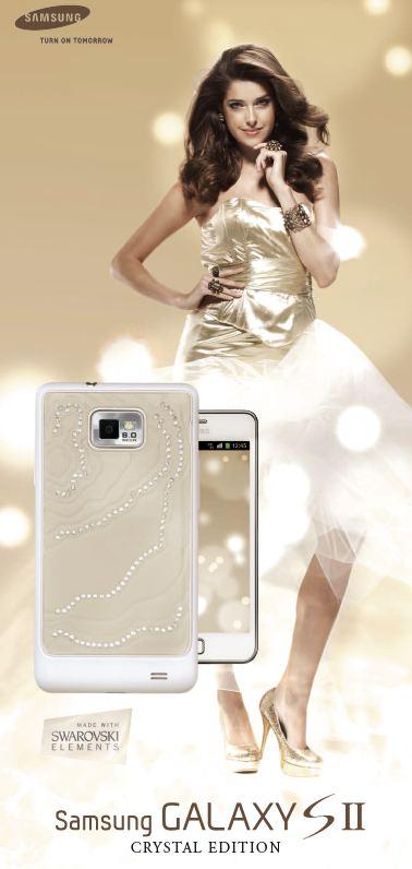 Samsung Galaxy SII crystal edition