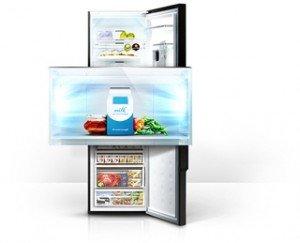 Amica Kühlschrank Neckermann : Samsung rl56grgih1 xef kühl gefrier kombination a 260 kwh jahr
