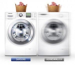 vibration der washing machine