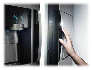 Bomann Mini Kühlschrank Durchsichtig : Samsung rs7778fhcsl ef side by side a 353 kwh jahr 359 l