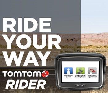 TomTom Rider 4,3 Zoll Display