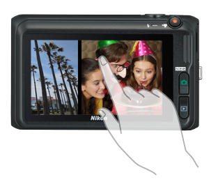 NIKON Coolpix S6400 Touchscreen