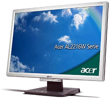 FO - Acer AL2416W 22 inch LCD - box is tatty.