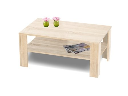 Presto mobilia 11028 couchtisch wohnzimmertisch tisch for Wohnzimmertisch eiche hell