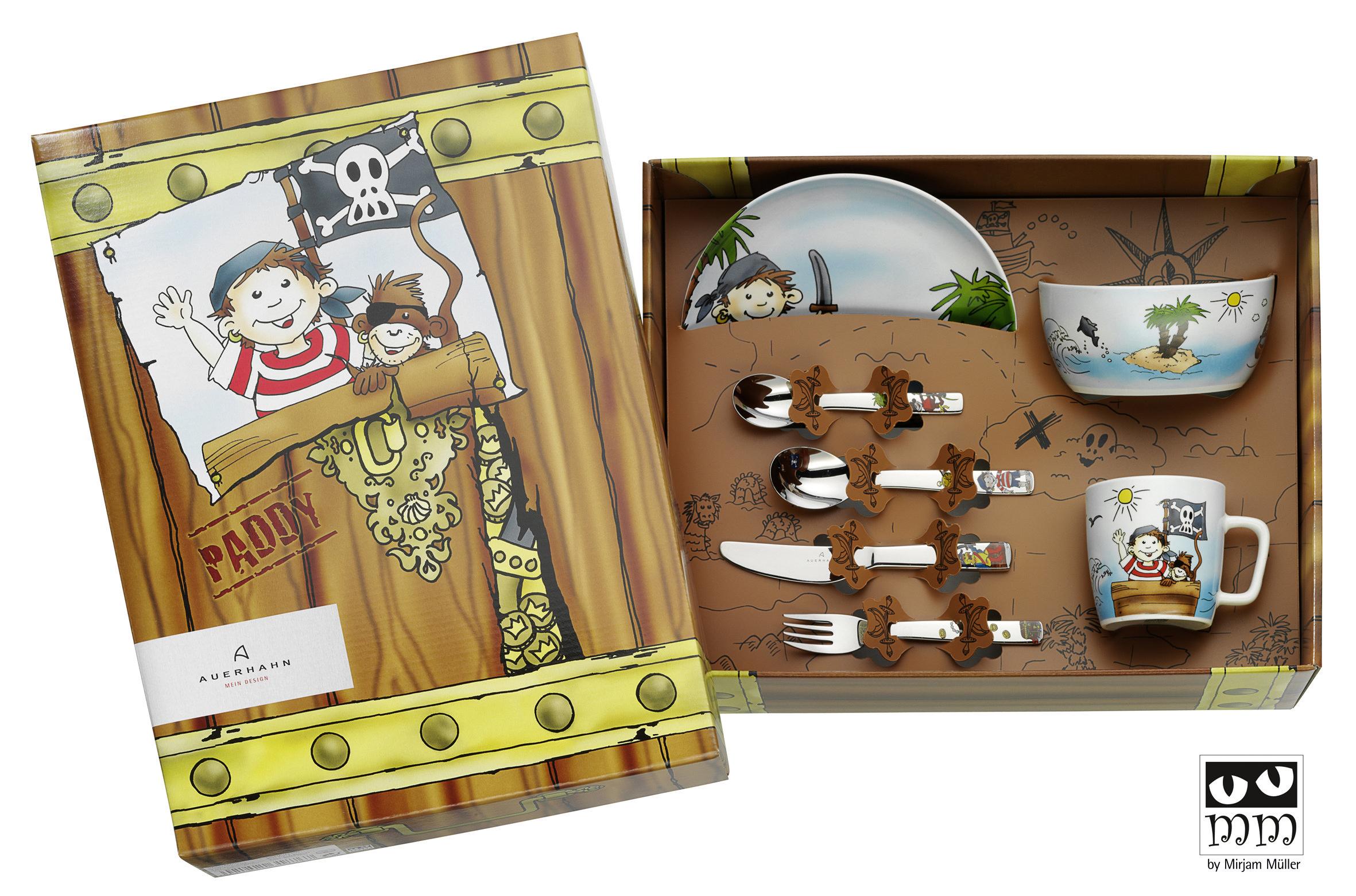 auerhahn 22 6061 0138 pirat paddy kinder set 7 teilig. Black Bedroom Furniture Sets. Home Design Ideas